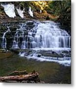 Beautiful Waterfalls Metal Print by Sheila Savage