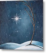 Beautiful Winterland By Shawna Erback Metal Print by Shawna Erback