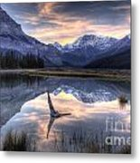Beauty Creek Pre-dawn Metal Print by Brian Stamm