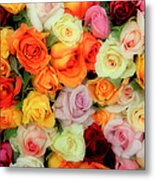 Bed Of Roses Metal Print by Tony Grider