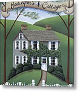 Beekeeper's Cottage Metal Print by Catherine Holman
