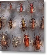 Beetles - The Usual Suspects  Metal Print by Mike Savad