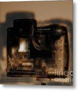 Behind The Lens  Metal Print by Steven  Digman