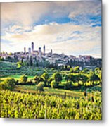 Bella Toscana Metal Print by JR Photography