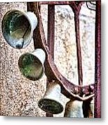 Bells In Sicily Metal Print by David Smith