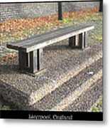 Bench #19 Metal Print by Roberto Alamino