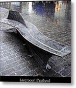 Bench #20 Metal Print by Roberto Alamino