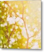 Beneath A Tree  14 5199   Diptych  Set 1 Of 2 Metal Print by Ulrich Schade