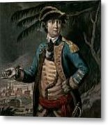 Benedict Arnold Metal Print by English School