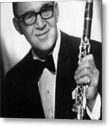 Benny Goodman (1909-1986) Metal Print by Granger