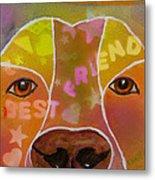 Best Friend Metal Print by Roger Wedegis