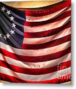 Betsy Ross Flag Metal Print by Olivier Le Queinec
