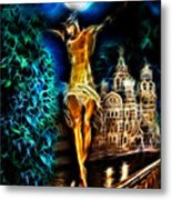 Between Heaven And Earth Metal Print by Karen Showell
