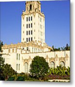 Beverly Hills Police Station Metal Print by Paul Velgos