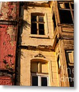 Beyoglu Old Houses 01 Metal Print by Rick Piper Photography