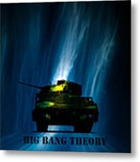 Big Bang Theory Metal Print by Bob Orsillo