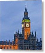 Big Ben London Metal Print by Matthew Gibson