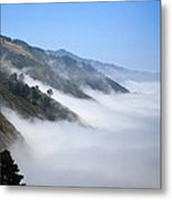 Big Sur Fog Metal Print by Mathew Lodge