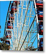 Big Wheel Metal Print by Kaye Menner