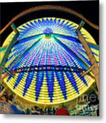 Big Wheel Keep On Turning Metal Print by Mark Miller
