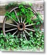 Big Wheel Metal Print by Mel Steinhauer