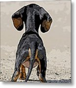 Big World Metal Print by Judy Wood