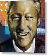 Bill Clinton Metal Print by Corporate Art Task Force