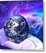 Birth Of A Planet Metal Print by Lisa Yount