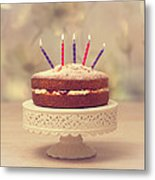 Birthday Cake Metal Print by Amanda And Christopher Elwell