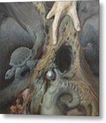Birthing Tree. Metal Print by Wayne Evans