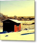 Black And Color Metal Print by Frozen in Time Fine Art Photography