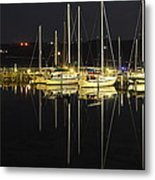 Black As Night Metal Print by Frozen in Time Fine Art Photography