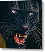 Black Panther 2 Metal Print by Jurek Zamoyski