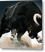 Black Thunder Metal Print by Brien Miller