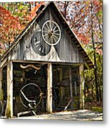 Blacksmith Shop Metal Print by Susan Leggett