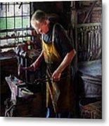 Blacksmith - Starting With A Bang  Metal Print by Mike Savad
