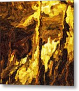 Blanchard Springs Caverns-arkansas Series 07 Metal Print by David Allen Pierson