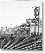 Bleachers Metal Print by David Bearden