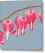 Bleeding Hearts Metal Print by Anastasiya Malakhova