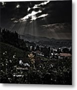 Blessed By Light Metal Print by Michael  Bjerg