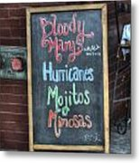Bloody Marys Metal Print by Brenda Bryant