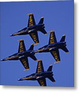Blue Angels Metal Print by Bill Gallagher