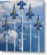 Blue Angels Metal Print by J Biggadike