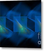 Blue Bows Metal Print by Judy Powell