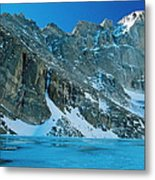 Blue Chasm Metal Print by Eric Glaser