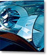Blue Light Metal Print by Wendy J St Christopher