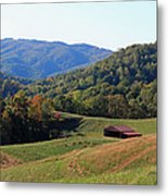 Blue Ridge Scenic Metal Print by Suzanne Gaff