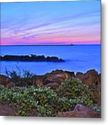 Blue Sunset Metal Print by Frozen in Time Fine Art Photography