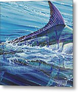Blue Tranquility Off0051 Metal Print by Carey Chen