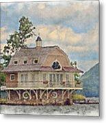 Boathouse  Metal Print by Susan Leggett